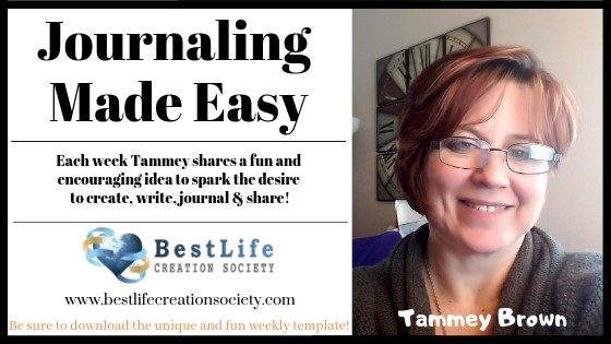 Image for Journaling Made Easy weekly blog post with Tammey Brown